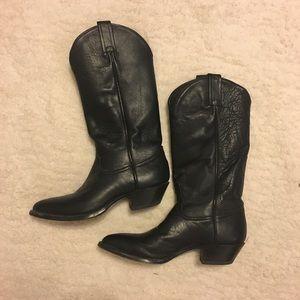 Tony Lama Western Boots Vintage